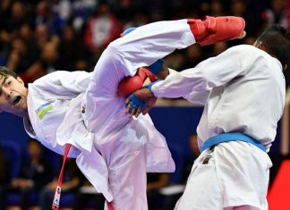 Karate-competition