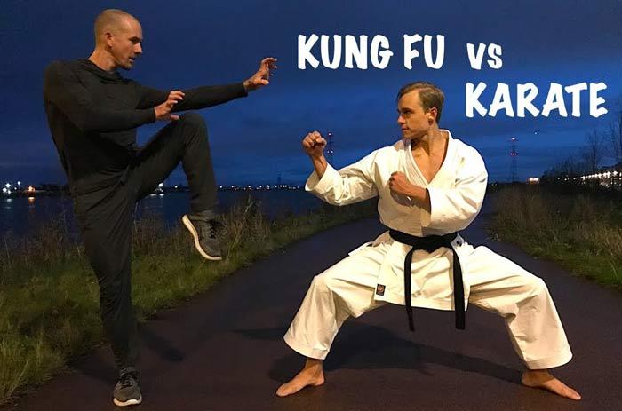 مقایسه کنگ فو با کاراته