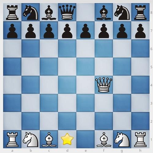 چیدن مهره های شطرنج