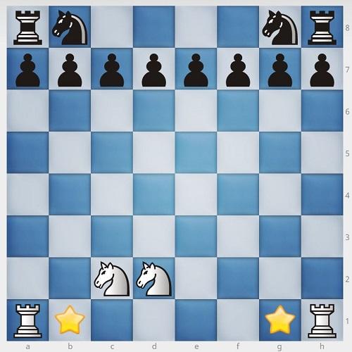 چیدن مهره های شطرنج1