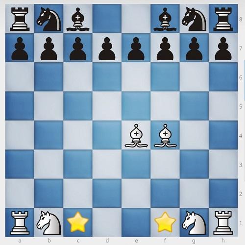 چیدن مهره های شطرنج2