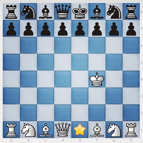 4چیدن مهره های شطرنج