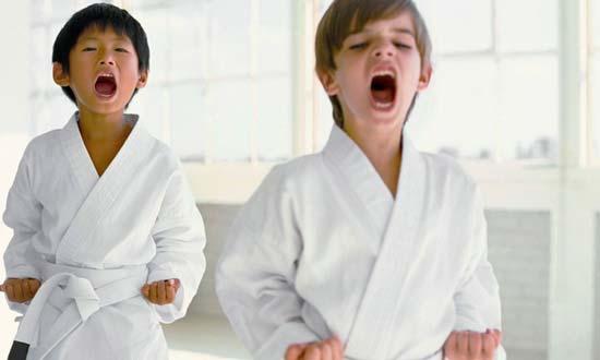 اموزش کاراته به کودکان