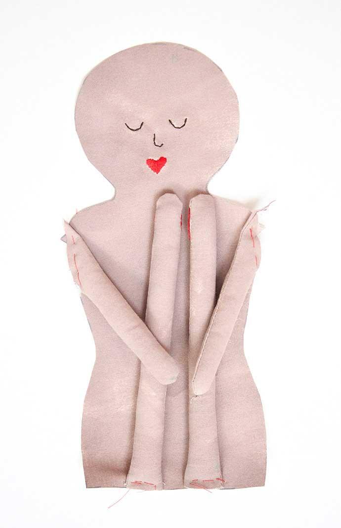 آموزش ساخت عروسک زیبا21