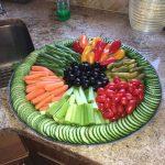 میوه آرایی با هندوانه و خیار