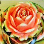 میوه آرایی با هندوانه و خیار16