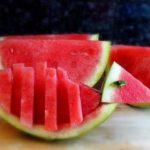 میوه آرایی با هندوانه و خیار29