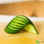 ميوه آرايي با هندوانه و خيار30
