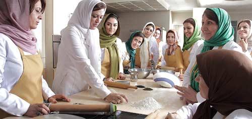 کلاس های آموزش آشپزی پانیذ