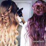 استایل موی زنانه بلند 13