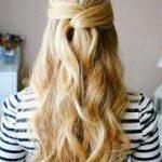 استایل موی زنانه بلند 28