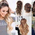 استایل موی زنانه بلند 3