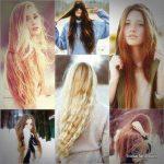 استایل موی زنانه بلند 30