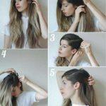 استایل موی زنانه بلند 433