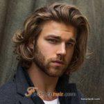 استایل موی مردانه بلند 12