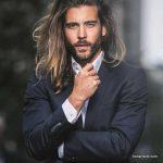 استایل موی مردانه بلند 2