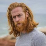 استایل موی مردانه بلند 23