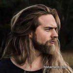 استایل موی مردانه بلند 29