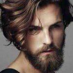 استایل موی مردانه بلند 32