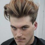 استایل موی مردانه بلند 35