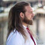 استایل موی مردانه بلند 39