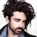 استایل موی مردانه بلند 42