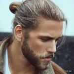 استایل موی مردانه بلند 45