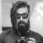 استایل موی مردانه بلند 46