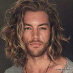 استایل موی مردانه بلند 48