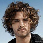 استایل موی مردانه بلند 49