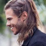 استایل موی مردانه بلند 5