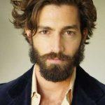 استایل موی مردانه بلند 52