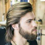 استایل موی مردانه بلند 54