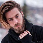 استایل موی مردانه بلند 6
