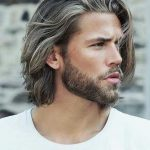 استایل موی مردانه بلند 9