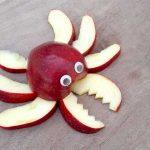 میوه آرایی با سیب و پرتغال2