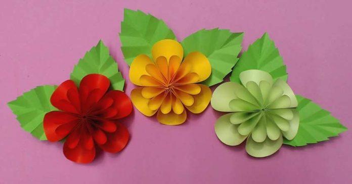 گل پارچه ای-فومی