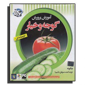 بسته آموزشی پرورش خیار و گوجه و نحوه ساخت گلخانه