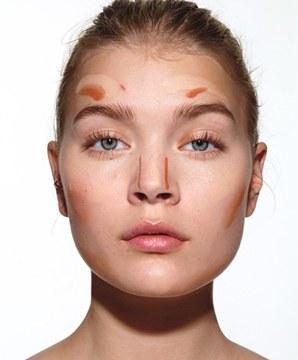 آموزش آرایش صورت 8