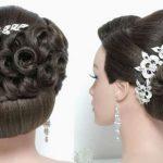 مدل جدید و زیبای شینیون عروس 13
