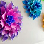 مدل جدید گلسازی با پارچه و کاغذ 11