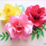 مدل جدید گلسازی با پارچه و کاغذ 14