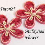 مدل جدید گلسازی با پارچه و کاغذ