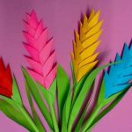 مدل جدید گلسازی با پارچه و کاغذ 16