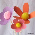 مدل جدید گلسازی با پارچه و کاغذ 18
