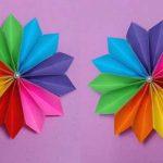 مدل جدید گلسازی با پارچه و کاغذ 19