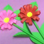 مدل جدید گلسازی با پارچه و کاغذ 20