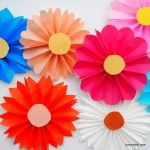 مدل جدید گلسازی با پارچه و کاغذ 4