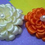نمونه زیبا و جدید گلسازی ریبون 15