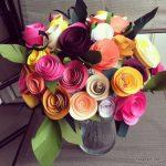 نمونه زیبا و جدید گلسازی ریبون